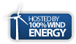 Hosted By 100% Wind Energy